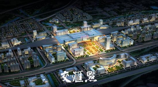 南京北站效果图