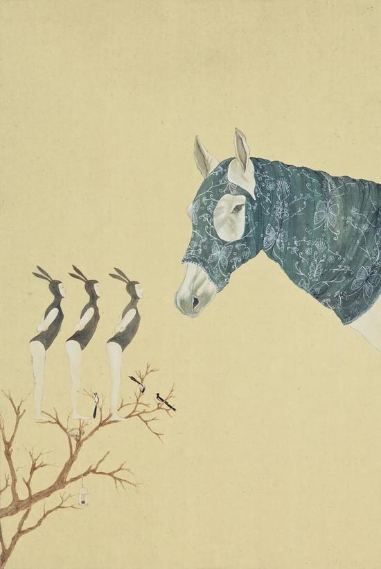 《【摩登2娱乐官网登录】江苏艺术家笔下的中国兔女郎:最具表现力的艺术符号》