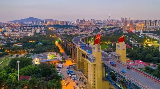 闊別兩年,南京長江大橋今年12月底即將恢復通車