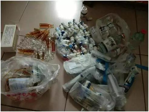 刘畅在家中找到大量药物 图据刘畅发布的文章
