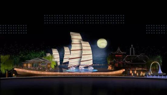 2019年中央广播电视总台中秋晚会舞美图(效果图)