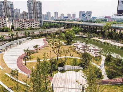 娄葑法制文化广场。