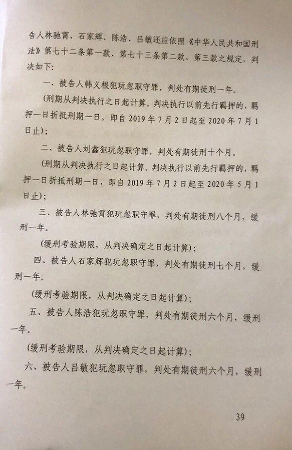 男子被传唤至派出所死亡:6辅警获刑 家属申请抗诉