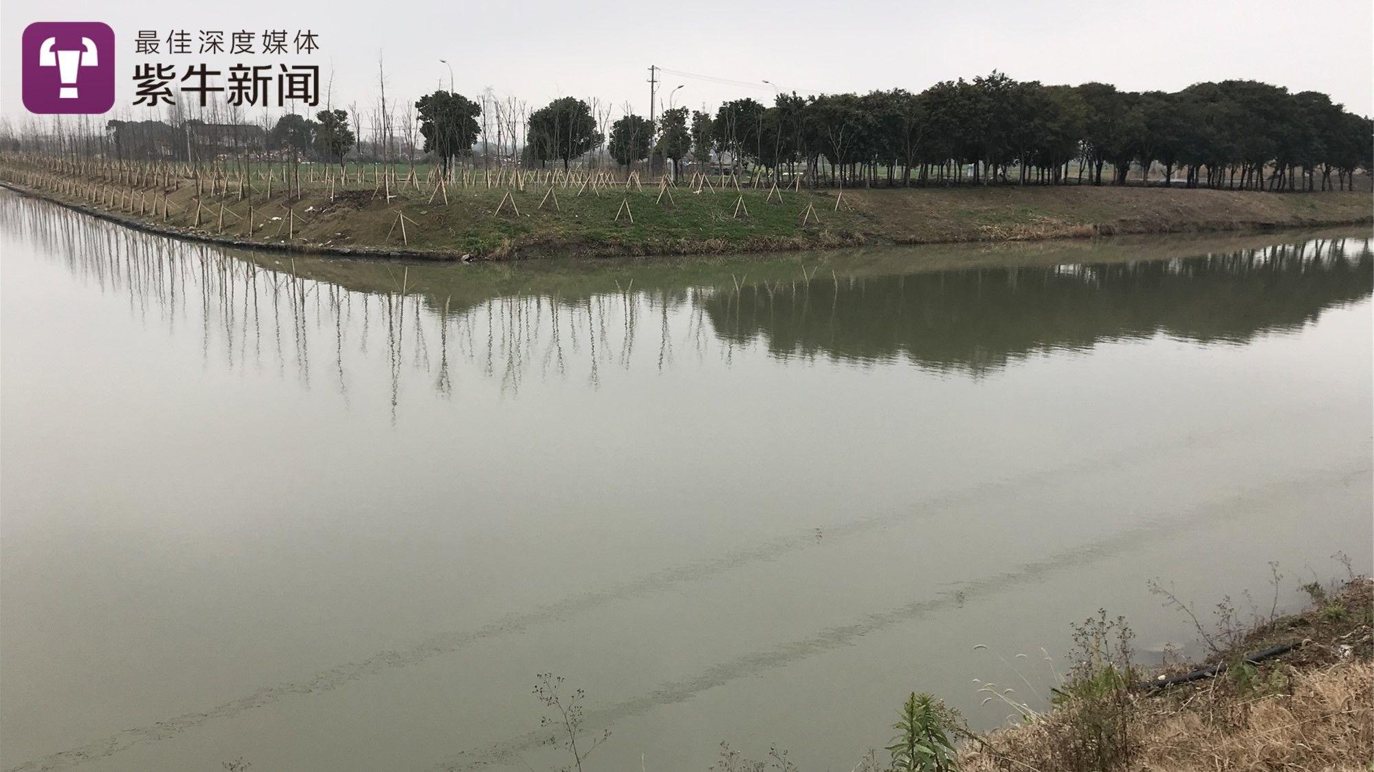 张保生溺亡的河