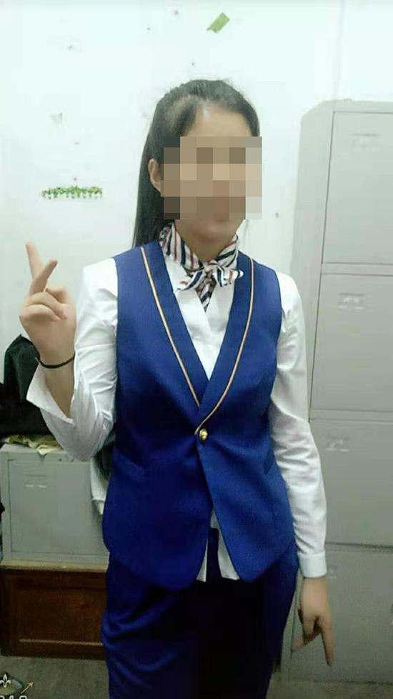 杨先生称,侄女王某目标明确,一直想要从事空乘服务工作。杨先生供图