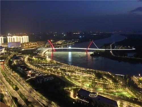 南京夜景。视觉江苏网供图