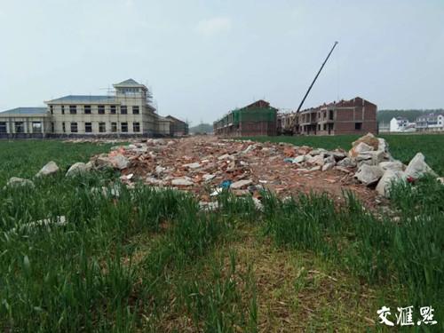 征地建设的新光村新型社区