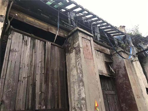 未修缮的部分房屋