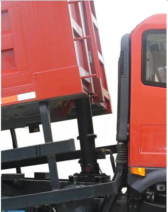 采用220mm大缸径前置顶,质量及口碑享誉国内自卸市场,安全系数更高。