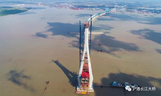 沪通长江大桥