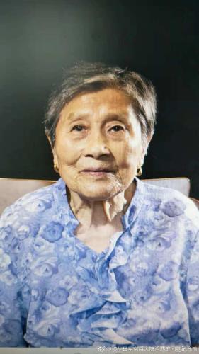 赵金华。图片来源:侵华日军南京大屠杀遇难同胞纪念馆官方微博
