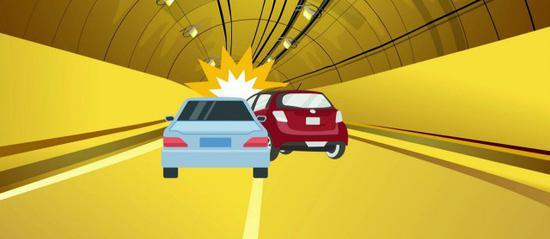 即使在隧道内遇到紧急情况,也不要惊慌——