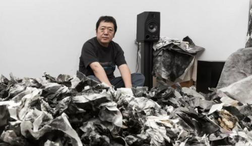 抽象艺术《废纸三千》