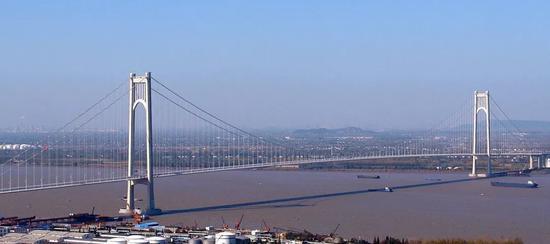 南京长江四桥网络图