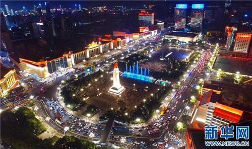 南昌八一广场。图自新华网