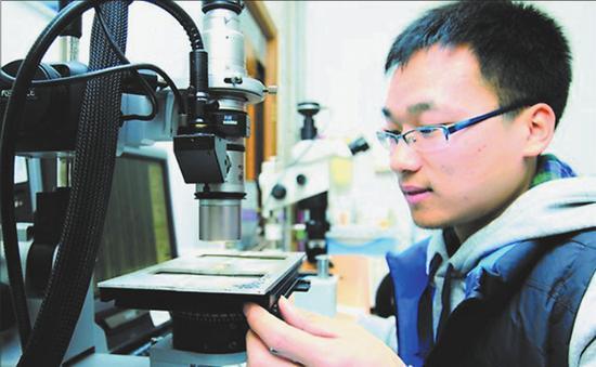 万龙 哈尔滨工业大学新闻网 图