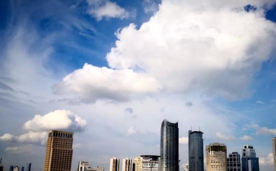 常常被蓝天刷屏 从朋友圈看江苏三季度空气质量报告