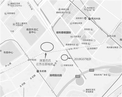 江山大街2018G07地块位置示意图