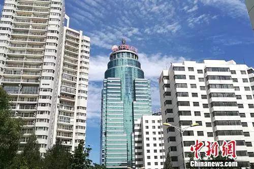资料图:北京市亚运村北辰附近某小区楼外景。中新网程春雨摄