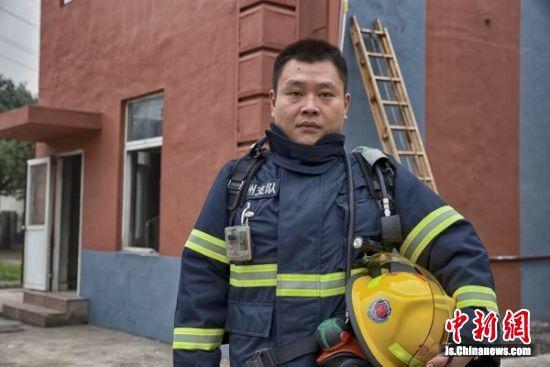 武警常州市消防支队培训基地教导员黄亮