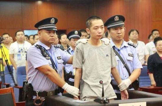 """陕西省米脂县""""4.27""""故意杀人案凶手赵泽伟。"""