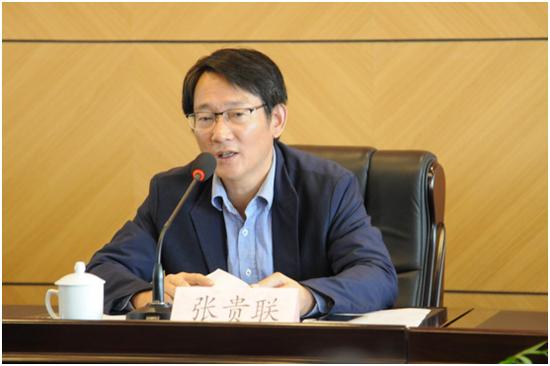 扬州市旅游局局长张贵联介绍扬州研学旅游开展情况