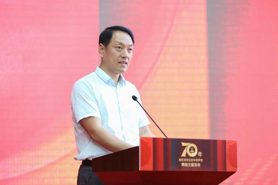 中央网信办网络新闻信息传播局副局长张勇致辞