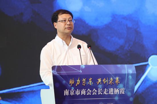 栖霞区委副书记、区长王生