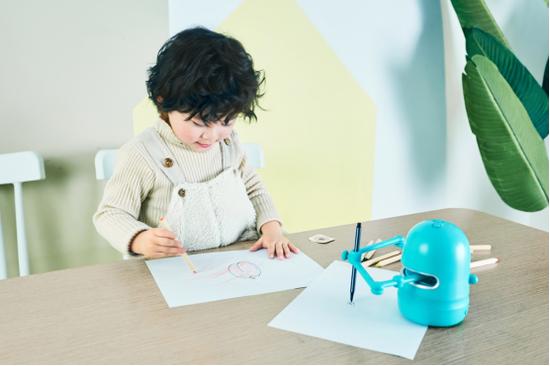 蓝宙昆希绘画机器人,送给孩子的春节专属礼物