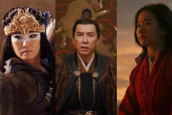 迪士尼《花木兰》报名奥斯卡奖,刘亦菲巩俐甄子丹在列