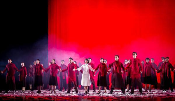 民族歌剧《青春之歌》好评如潮 连续两晚登陆南京