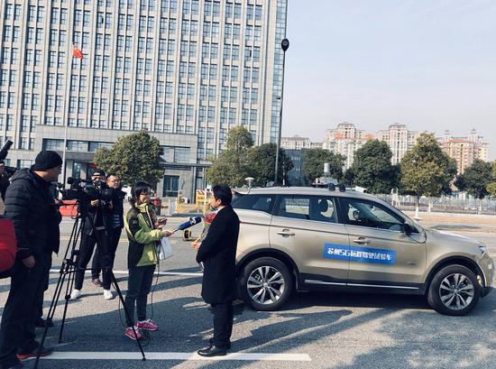 江苏移动在常熟展示基于5G的创新远程驾驶技术