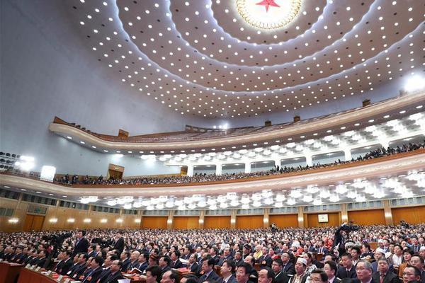 十三届全国人大一次会议在北京人民大会堂闭幕