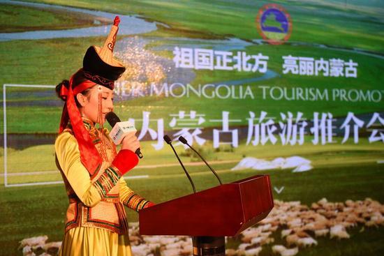 走遍中国--内蒙古旅游万里巡回展走进江苏南京