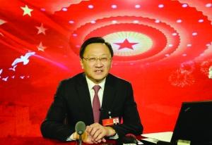 全国人大代表、南京市市长缪瑞林