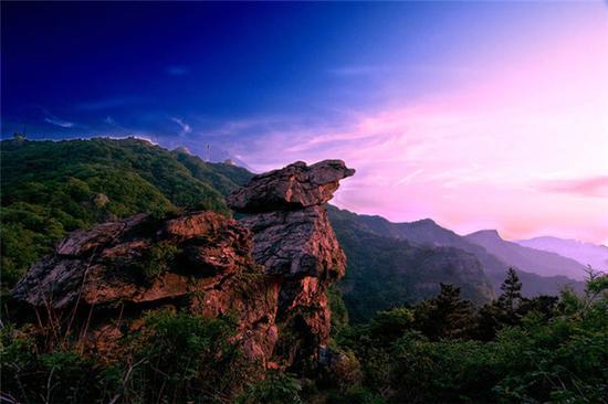 海上云台山 图:海上云台山旅游网