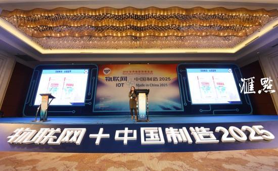 2016世界物联网博览会会场 郎从柳、余萍摄