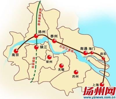 十三五扬州力争开建地铁 宁镇扬半小时通达