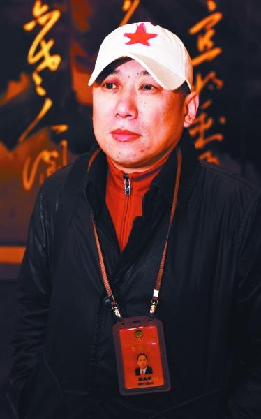 吴先斌委员。南京报业传媒集团全媒体记者 吴彬 冯芃摄
