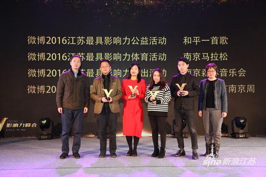 微博2016江苏最具影响力活动