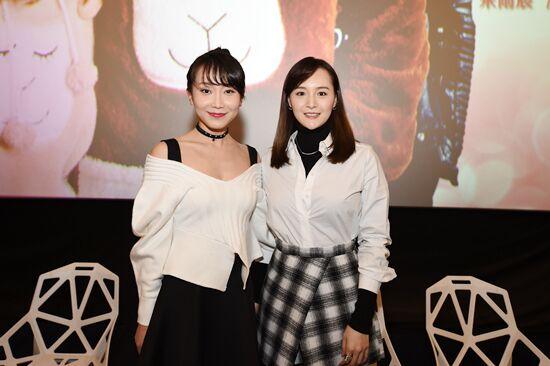 两位女主演