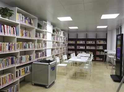 江宁东山街道外港社区24小时图书室