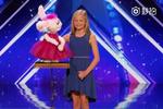 12岁女孩腹语术唱出天籁之音