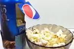 用可乐罐头就可以做出爆米花
