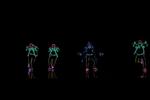 美国达人秀上酷炫的灯光舞蹈