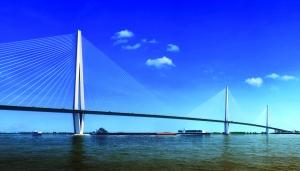 南京长江五桥效果图
