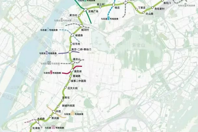南京地铁7号线开始施工招标 有望年内开工