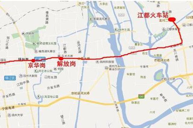 扬州地铁1号线开展过街通道预留研究