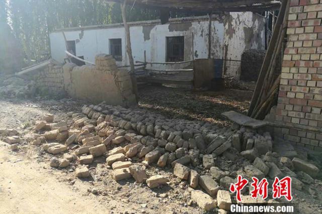 精河县地震致32人受伤 142间房屋倒塌