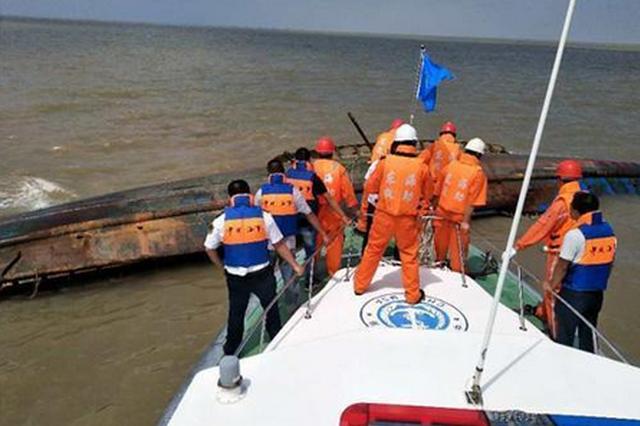 江苏盐城海域渔船相撞事故已致2人遇难 1人失踪